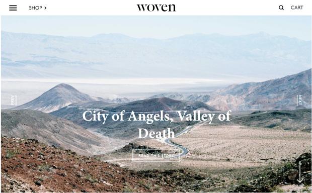 Woven Magazine Website